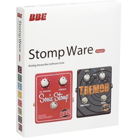 BBE STOMP WARE Stomp Box Electric Guitar Pedal Software