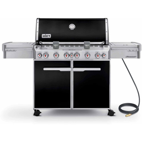 Weber Summit E-670 Natural Gas Grill, Black