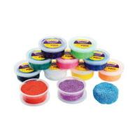 Colorations Amazing Air-Dry Modeling Foam - Set of 12 (Item # MODFOAM)