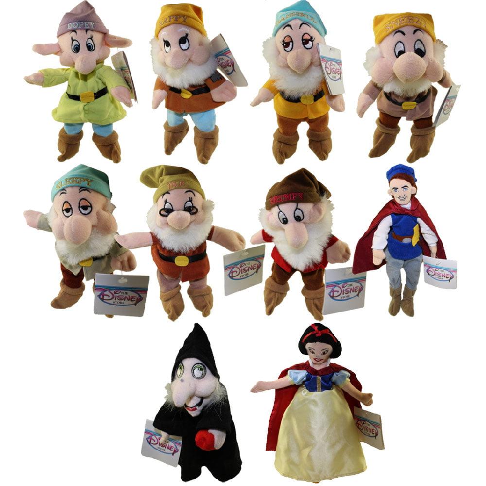 Snow White Disney Bean Bag Plush Prince