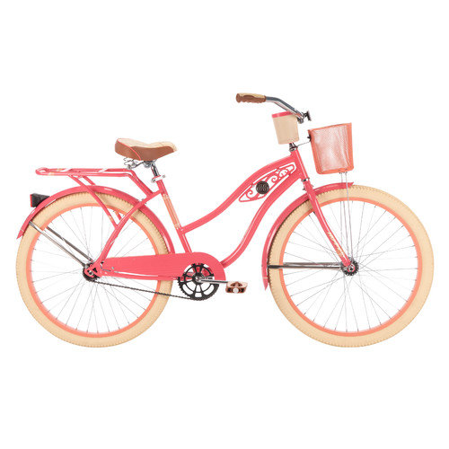 Huffy Deluxe 26 in. Classic Cruiser - Pink