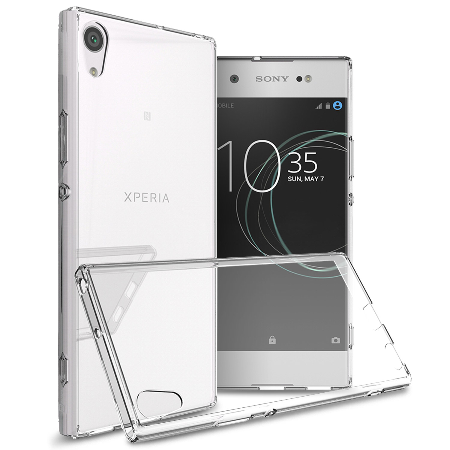 CoverON Sony Xperia XA1 Ultra Case, ClearGuard Series Clear Hard Phone Cover
