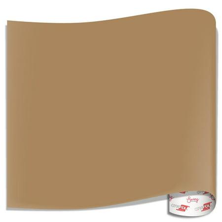 Oracal 751 Glossy Vinyl Sheets - Light Brown - Walmart com