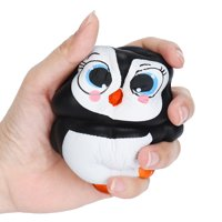 snorda Cute Penguins Slow Rising Cream Scented Decompression Toys