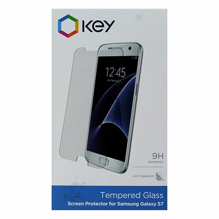 Key Tempered Glass Screen Protector for Samsung Galaxy S7 - Clear (Refurbished) - Walmart.com