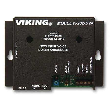 Viking Electronics VK-K-202-DVAM Two-Input Voice Alarm