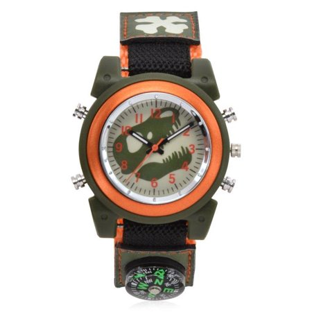 Dinosaur Kids' Watch with Fast Strap