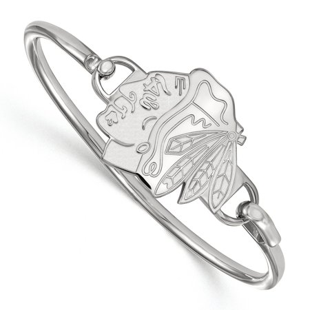 Chicago Blackhawks Bangle In Sterling Silver 15 36 Gr