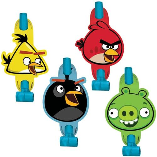 Angry Birds Party Blowers (8-Pack) - Party Supplies