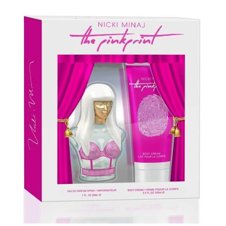 Nicki Minaj The Pinkprint 2Pc Gift Set EDP 1.0Oz/30ml & Body Lotion - Ideas For A Nicki Minaj Halloween Costume