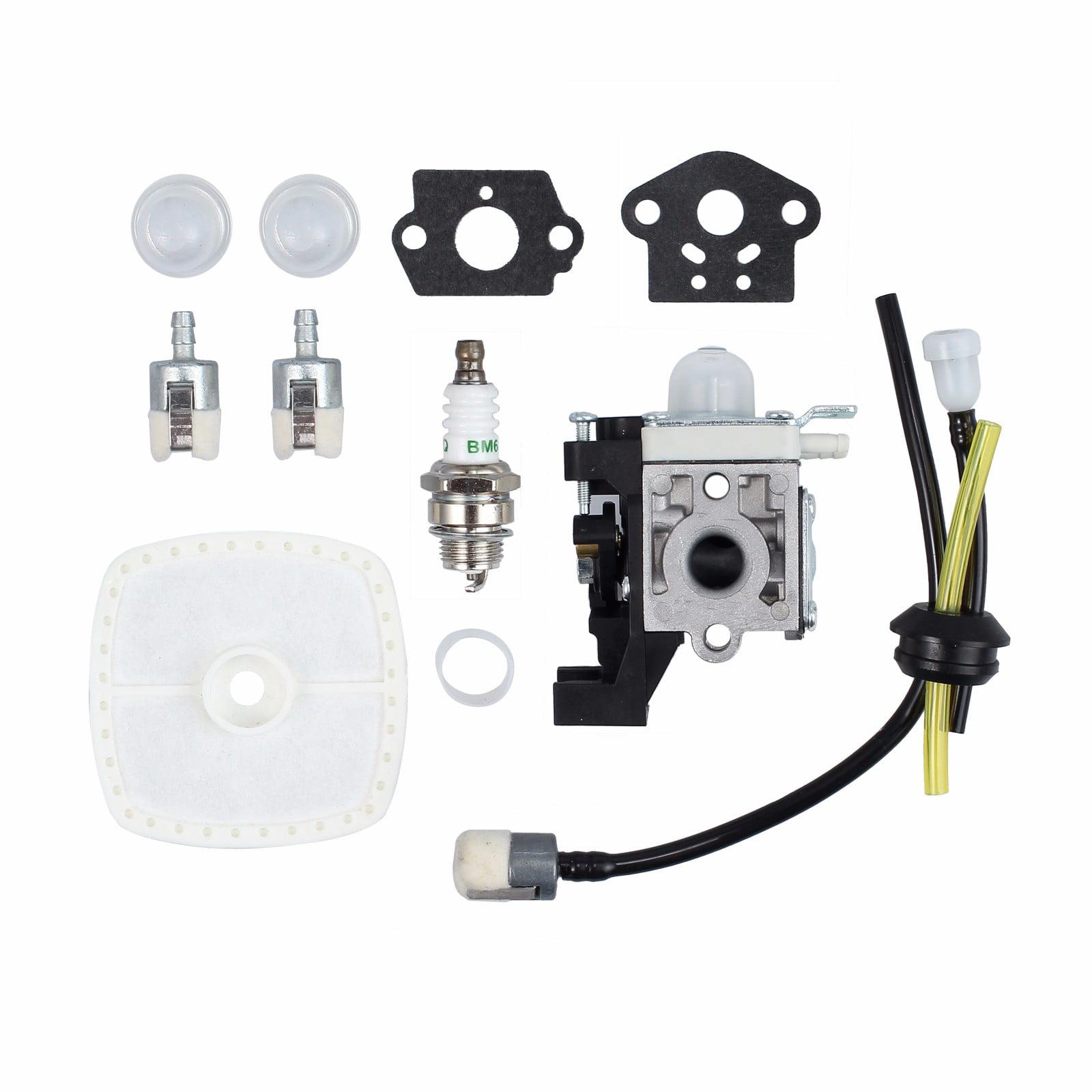 ESYNIC Zama Carburetor Set for Zama RB-K93 Echo SRM-225 GT-225 PAS-225 Air Filter Fuel Line Kit-OEM A021001690