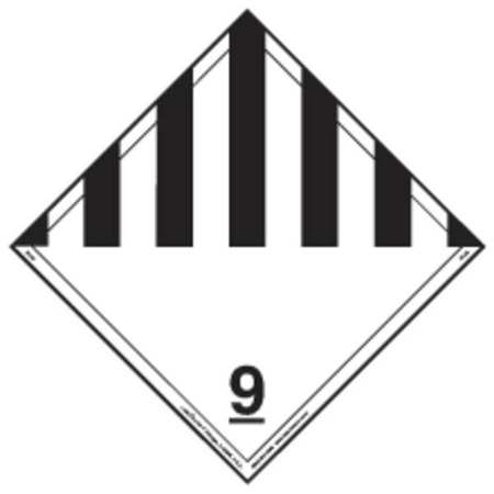 "Placard, Labelmaster, IPL29, 10-3/4""Hx10-3/4""W"
