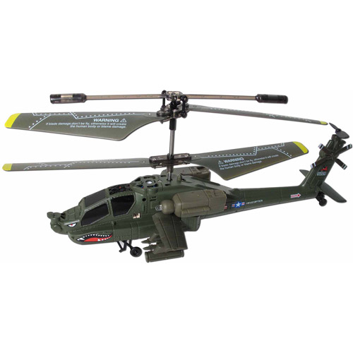 Syma S109G 3.5 Channel RC Apache Helicopter with Gyro