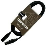 Telefunken Studio Series Premium XLR Mic Cable 3 ft. Black