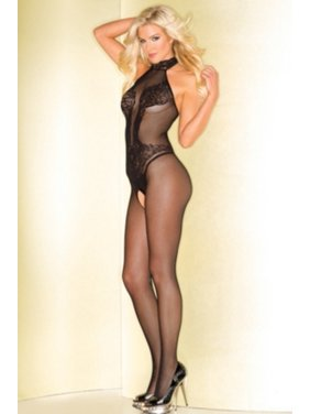 e42ee51109 Product Image Bend The Rules Crotchless Bodystocking Be Wicked BWB78 Black