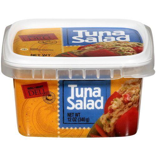 Wal-Mart Deli: Tuna Salad, 12 oz - Walmart.com