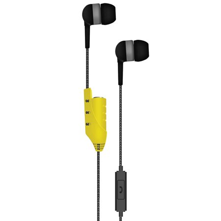 Maxell Share Earbuds with Mic, Gray