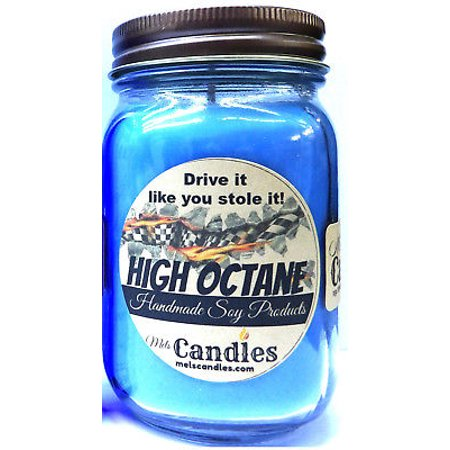 High Octane - Racing Fuel 16oz Soy Candle Wholesale Scented Candles Race Lovers