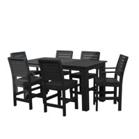 highwood® Eco-Friendly Weatherly 7pc Rectangular Counter Dining Set
