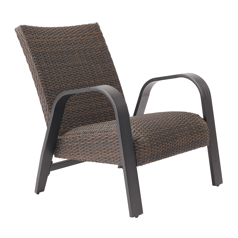 Mainstays Layken 2-Piece Patio Wicker Lounge Chair Set