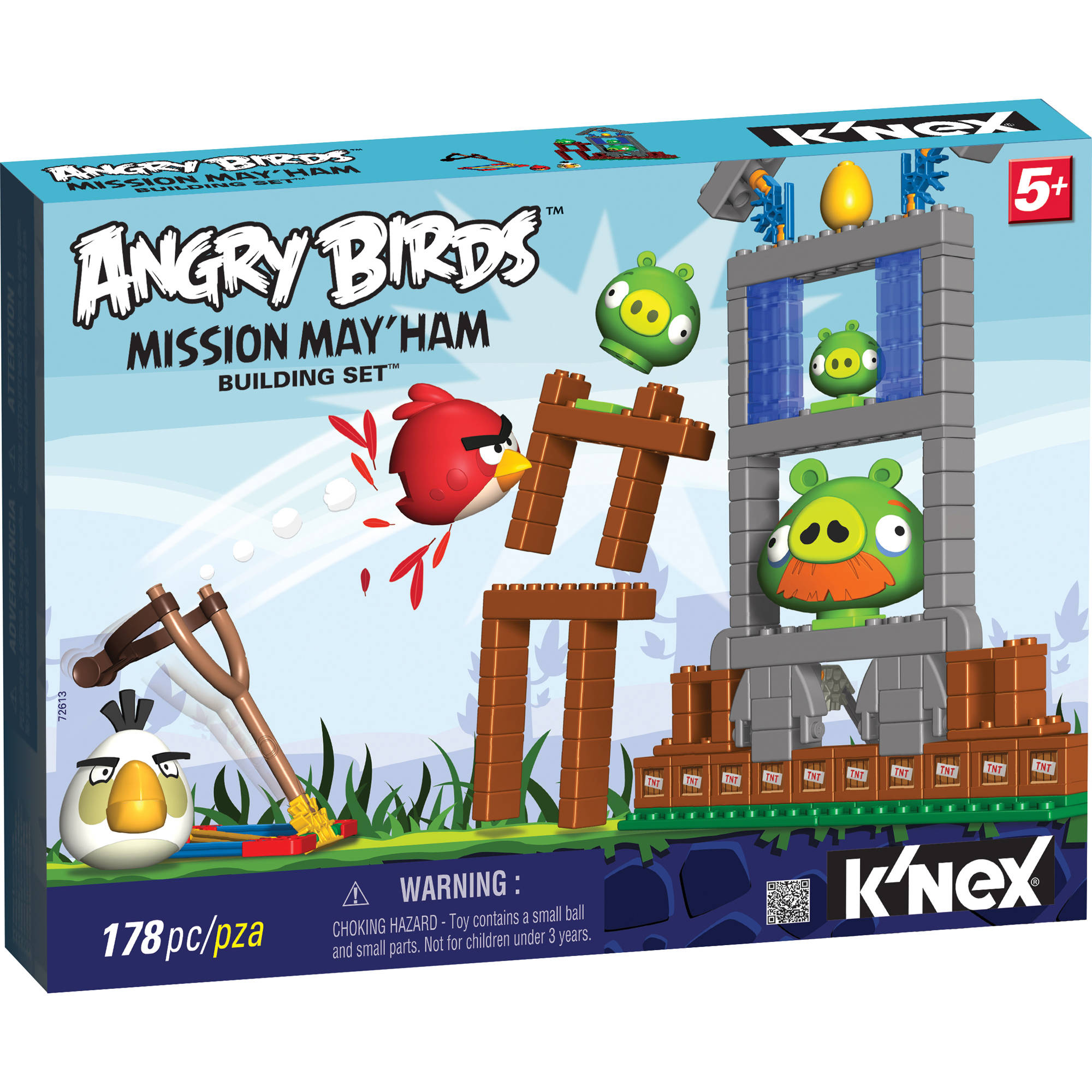 K'NEX Angry Birds Building Set: Mission May'ham