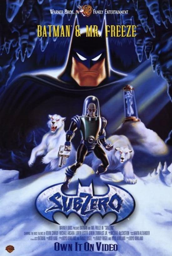 Batman Mr Freeze Subzero Movie Poster (11 x 17) by Pop Culture Graphics