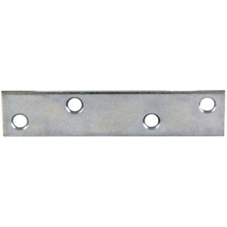 Zinc Plated Mending Plate - Part 61137 4 X3/4 Zinc Plate Mending Plate, by Proven Brands, Single Item, Great