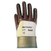 ANSELL 28-507 Cut Resistant Gloves,Maroon,M,PR