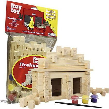 Build & Paint Firehouse Kit