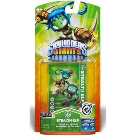 Skylanders Giants: Stealth Elf (Series 2) (Universal) (Skylanders Slippers)