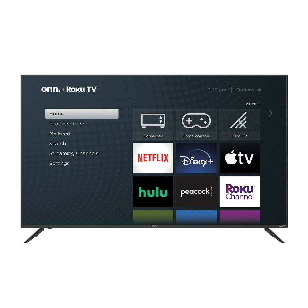 "onn. 70"" Class 4K UHD (2160P) LED Roku Smart TV HDR (100012588)"