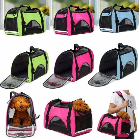 OURBAG Large Pet Carrier OxFord Soft Sided Cat/Dog Comfort Travel Tote Shoulder Bag