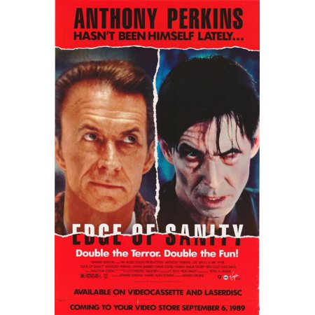 Edge Of Sanity Movie Poster Print  27 X 40