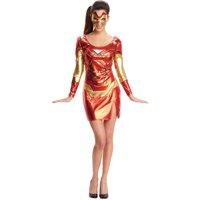 Adult's Womens Secret Wishes  Marvel Rescue Iron Man Dress Costume