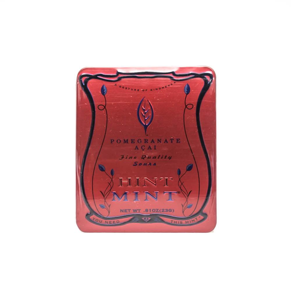 Hint Mint Gelatin Free Kosher Mints Pomegranate Acai 0.81oz (23g) (40Mints) by Hint Mint