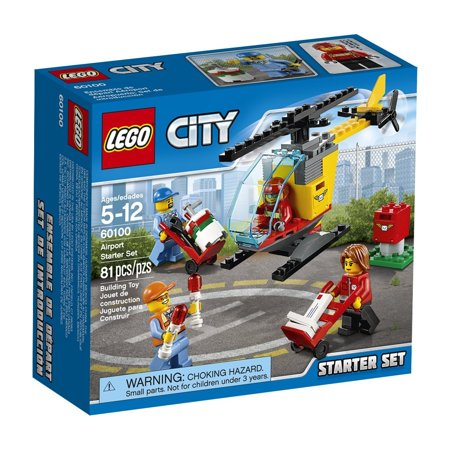LEGO (LEGO) City Airport start set 60100](Lego Outlet)