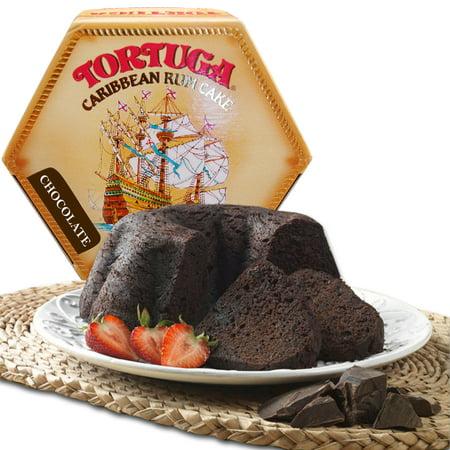 Tortuga Caribbean Rum Cake 4 oz Chocolate Flavor FREE (Rum Cake Glaze)