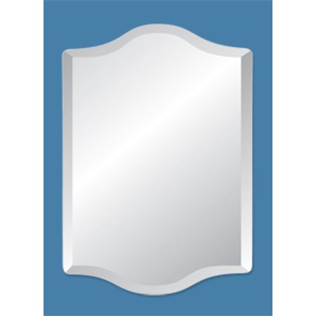 22 X 30 Westminster Frameless Mirror With Polished Beveled Edges