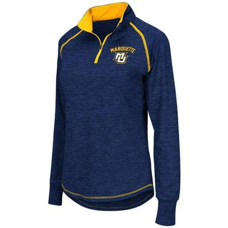 Marquette Golden Eagles Women's Colosseum Bikram 1/4 Zip Jacket for $<!---->