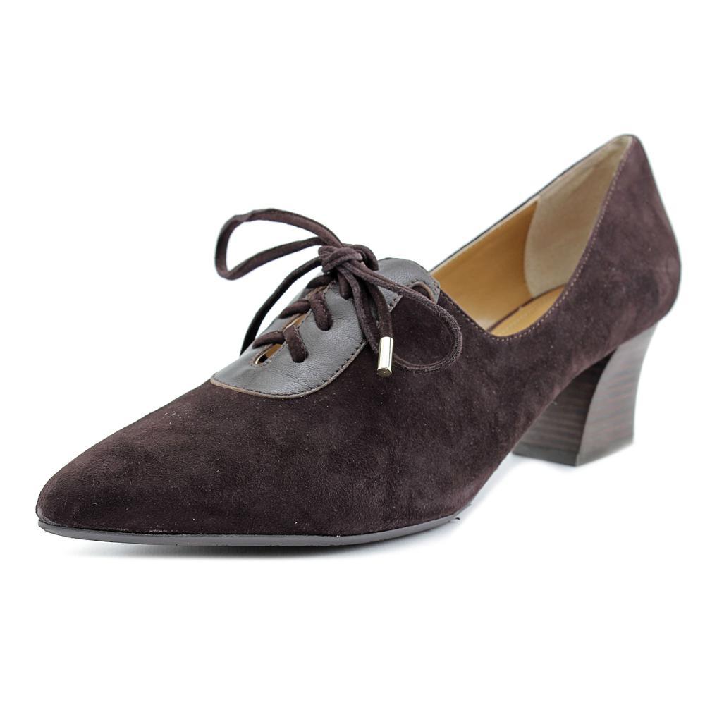 J. Renee Ellam Pointed Toe Suede Heels by J. Renee