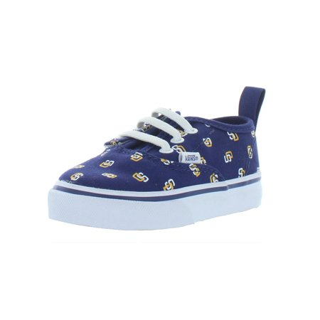 Vans Boys Padres Low Top Skate Shoes Navy 6 Medium (D) Toddler](Vans Toddler Shoes)