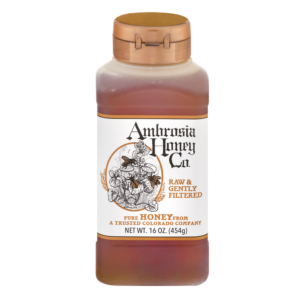 Ambrosia Honey, 16 oz by Madhava Natural Sweeteners