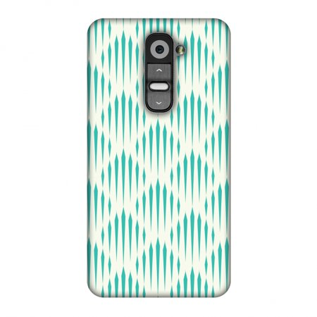 LG G2 D802 Case - Stripes 1, Hard Plastic Back Cover. Slim Profile Cute Printed Designer Snap on Case with Screen Cleaning