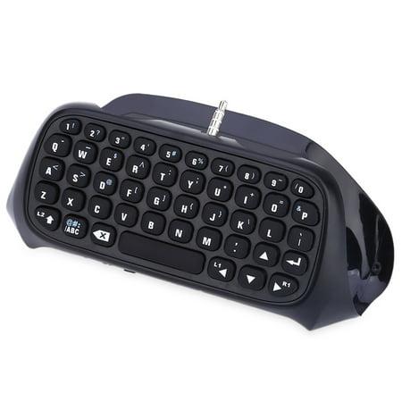 Mini Bluetooth Keyboard PS4 Controller Wireless Keyboard Handheld  Intelligent Keyboard, Black