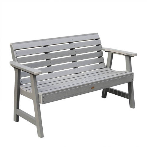 Highwood Eco-Friendly Weatherly Garden Bench, 5' by Highwood USA