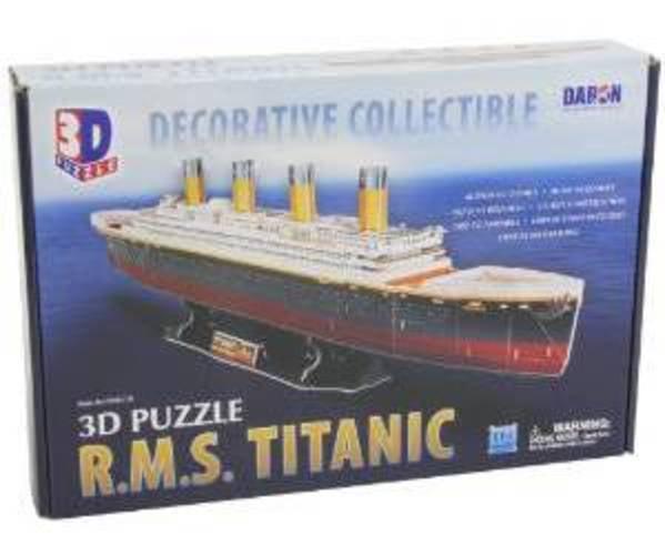 Titanic 3D Puzzle, 113-Piece by Daron