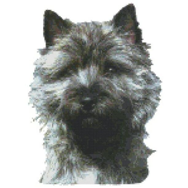 Cairn Terrier Dog Portrait Counted Cross Stitch Pattern Walmart Com Walmart Com