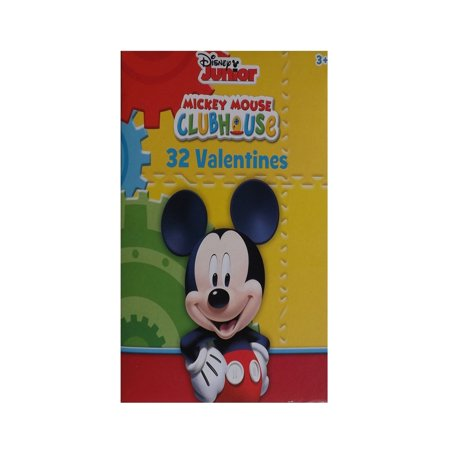 Micky Mouse Clubhouse Kids Valetines Cards