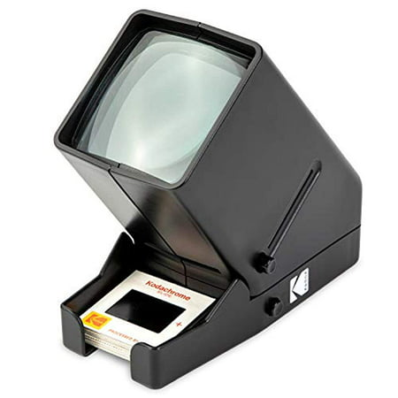 KODAK 35mm Slide and Film Viewer - Battery Operation, 3X Magnification, LED Lighted Viewing – for 35mm Slides & Film
