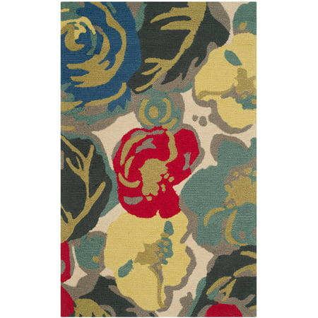 Floral Four - Safavieh Four Seasons Emely Abstract Floral Area Rug Or Runner